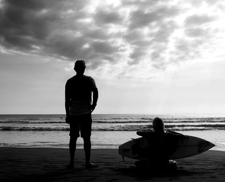 Leilani McGonagle costarican pro surfer and father!