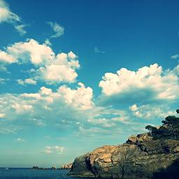 summer nature beach costabrava begur spain