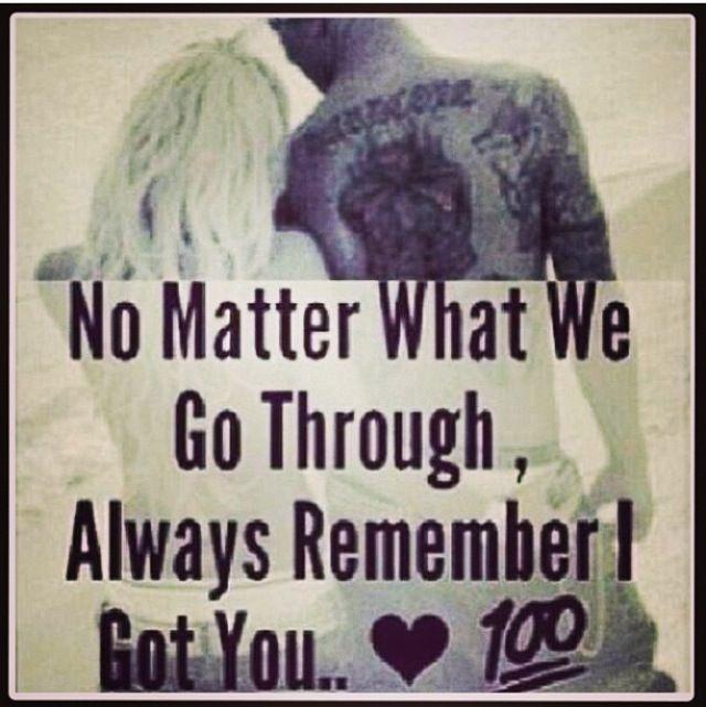 No Matter What We Go Through, ...