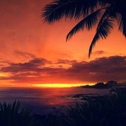 twilight beautifulsunset beach
