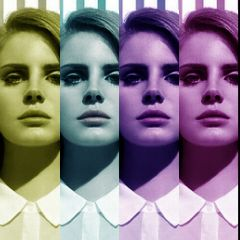 color splash lana del rey