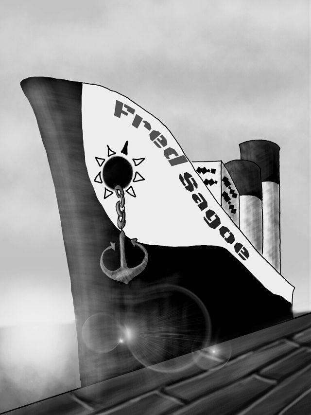ship drawing