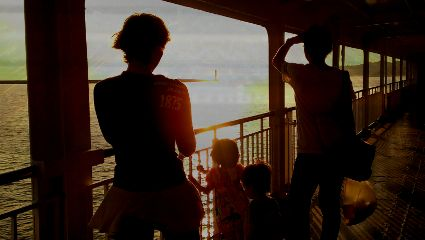 travel people nature colorful love family