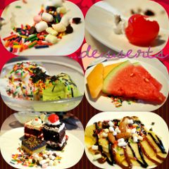 dessert photography colorful interesting food