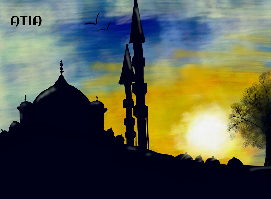 Hey !! long time since i drew anything how r u all ??  its a mosque in istanbul i hope i did justice to the drawing & i voted for ur enteries in the dc frnds  finally how is my this drawing ? :)^_^