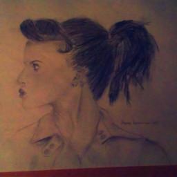pencil art art portrait