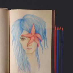 color splash people pencil art colorful summer love