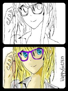 drawing anime cute manga drawig step by step