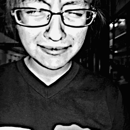 wapfemaleportrait black & white love hdr old photo