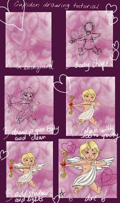 drawing draw drawstepbystep cupidon love