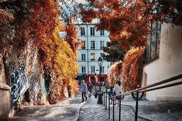emotions montmartre paris photography quotes & sayings autumn