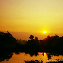 indonesia photography sun shillouette reflection