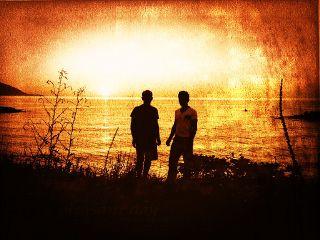 sunset me summer blacksea brotherhood