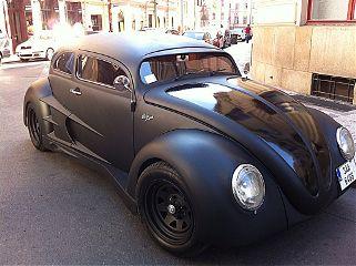 sweet black fast hdr volkswagen